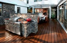 Outdoor kitchen design cool