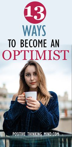 So you want to become an optimist and for a good reason too. When you are optimistic, your whole life changes for the better. When you're an optimistic person, it doesn't mean you forget about your problems; it means that you don't let negative thoughts or feelings get to you. Having a positive mindset can keep you healthier, elevate your mood, and you'll be grateful for all the good things in your life. Positive Mindset, Positive Affirmations, Positive Quotes, Negative People, Negative Thoughts, Journal Quotes, Law Of Attraction, Grateful, Forget