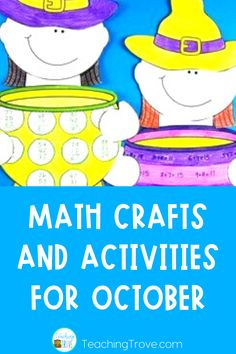 This October themed pack allows you to differentiate math activities so your students can work on their addition, subtraction and multiplication facts or consolidate adding and subtracting two or three digit numbers. Whichever concept they need more practice with.Your class will be so motivated to complete these fun math craftivities they won't even realize they're doing work!