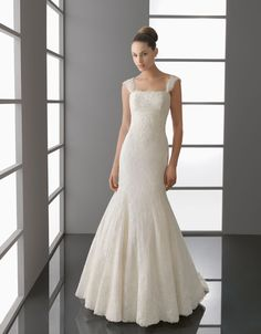 Aire Barcelona Bridal Gown Style - Palmira