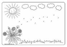 Púpavové semienka - pracovný list Spring Activities, Activities For Kids, Jar, Celestial, Plants, Education, Children Activities, Kid Activities, Plant