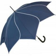 Navy Blauwe Swirl Paraplu