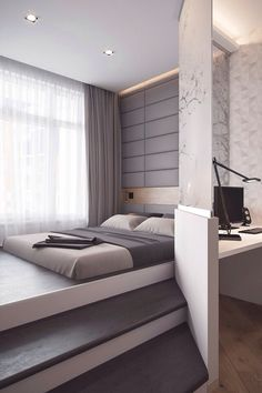 Bedroom ;all white