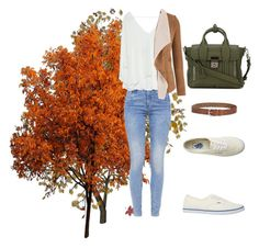 """""""Lets walk the dog"""" by bereshi on Polyvore featuring moda, G-Star, Zara, maurices, Vans, Lucky Brand y 3.1 Phillip Lim"""