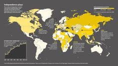 Mapping the world's separatist movements.