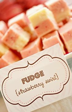 pink/brown fudge?