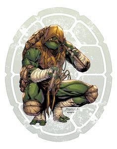 Ninja Turtle Nails, Ninja Turtles Art, Teenage Mutant Ninja Turtles, Tmnt Mikey, Cuadros Star Wars, Arte Ninja, Cartoon Costumes, Arte Dc Comics, Thundercats