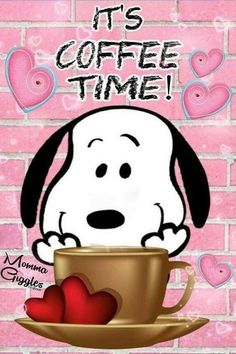 Snoopy Love, Snoopy And Woodstock, Charlie Brown Und Snoopy, Charlie Brown Quotes, Images Snoopy, Snoopy Pictures, Peanuts Cartoon, Peanuts Snoopy, Coffee Quotes