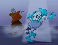 Undertale :: Underswap :: Dance Sans Dance by SpaceJacket