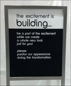 1000 Images About Amenities Construction Signage In