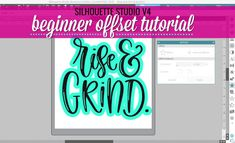 How to Make a Border Around a Shape in Silhouette Studio V4 (Beginner Offset Tutorial)