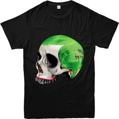 Joker Skull  T Shirts For Men //Price: $23.18 & FREE Shipping //     #jaredletojoker #jarley #jokerandharley #dccomics #madlove #thecrazyones #suicidesquad2016