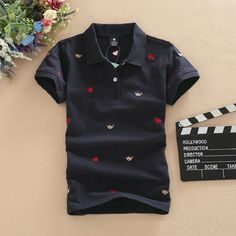... Polos Polo Shirts Real Classic Breathable Summer Short Sleeved  Embroidery Cotton Women Polo Femme-in Polo Shirts from Women s Clothing on  Aliexpress.com ... b35b7d78f15