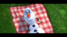 Olaf's song from Frozen! <3