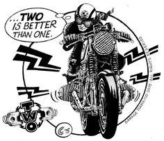 Racing Cafè: Garage Diabolico #41 - Single, Two, Triple