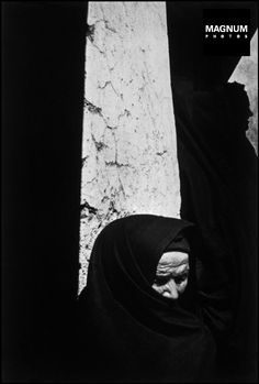 "Eugene Smith  A woman at the wake of Juan Carra Trujillo. from the series  ""Spanish Village"" –  1951"
