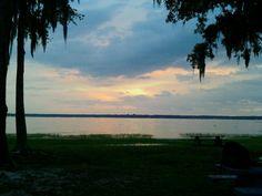 Kingsley lake sunset