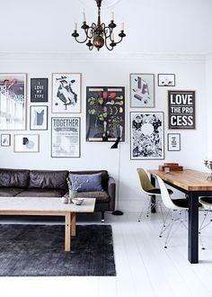 Her er de eneste 3 tal, du skal kende for at få den hjemmela Inspiration Wand, Interior Inspiration, Interior Exterior, Interior Design, Living Room Decor, Living Spaces, Wall Design, House Design, Sweet Home