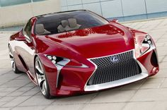 Lexus LF-LC hybrid sports coupe concept, I want one!!!
