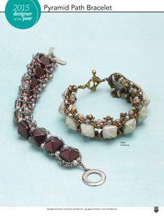 - two hole pyramid bracelet