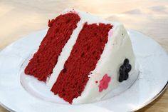 Adventures in Savings: Red Velvet Cake with Cream Cheese Buttercream