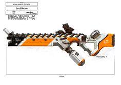 Prawn Gauss Rifle