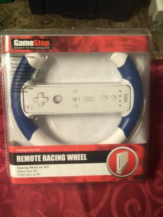 Game Stop Remote Racing Wheel for Wii - New in package #GameStop
