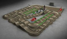 Dirt Bike Track, Rc Track, Monster Cup, Motocross Tracks, Monster Energy Supercross, Paradox, Playground, Toy, Children Playground
