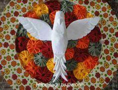 Resultado de imagem para como fazer divino espirito santo em tecido