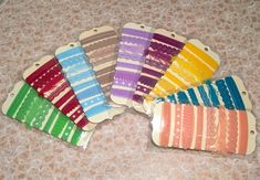 Colorful Trim Set 1 pack by LosChapines on Etsy