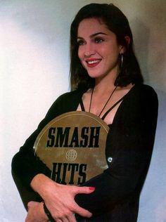 #Madonna at the Smash Hits Awards in 1991 #TheQueenOfPop #TheQueenOfMusic #TheQueenOfReinvention #LikeAPrayer #Dance #Pop #DancePop #Vogue #TheImmaculateCollection #TheQueenOfBillboard #TheQueenOfMTV #SmashHits #BitchImMadonna #BlackHair