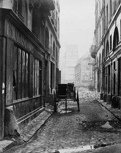 'Charles Marville: Photographer of Paris' Rue Estienne, de la Rue Boucher, Paris Pictures, Old Pictures, Old Photos, Antique Photos, Paris Photography, Vintage Photography, Rue Montorgueil, Photo Print, French Photographers