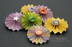 love these for added dimension on my paper crafts