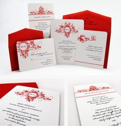 icanhappy.com red-and-black-wedding-invitations-29 #weddinginvitations