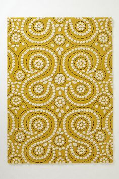 Swirling Fiore  Rug #anthropologie #anthrofave