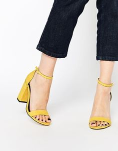 cee123463961 ASOS HERE GOES Heeled Sandals Heeled Sandals