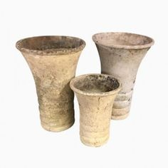 Swiss Planters by Willy Guhl for Eternit, Set of 3