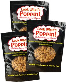 Free prize program! Sell 21 bags of popcorn and you get 3 FREE bags!