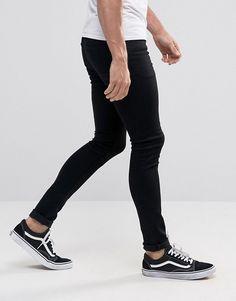 ASOS | Extreme Super Skinny Jeans in Black