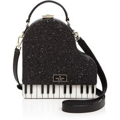 kate spade new york Jazz Things Up Piano Crossbody ($425) ❤ liked on Polyvore featuring bags, handbags, shoulder bags, kate spade, kate spade handbag, glitter handbag, cross body and kate spade shoulder bag
