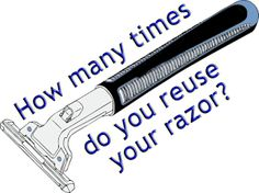 Double edge safety razors are simply a gift to man. They make shaving a whole lot easy and take you on your journey to become a professional. Vikings Blade, Disposable Razor, How Many, Safety Razor, Helping Others, Shaving, Saving Money, How To Become, Change