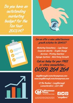 Do you have an outstanding marketing budget for Tax Year 2013/14?