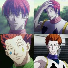 Hisoka, your beauty makes NO sense. ⭐️