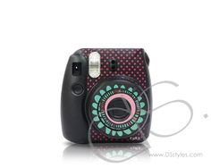This Floral Camera Sticker for Fujifilm Instax mini 8 - Black add even more fun to this instant camera. It comes with 4 pieces of camera stickers and make your instax mini 8 a different outlook. Instax Mini 8 Camera, Fujifilm Instax Mini 8, Polaroid Camera, Camera Decor, Instant Camera, Sticker, Polaroids, Gifts, Stuff To Buy