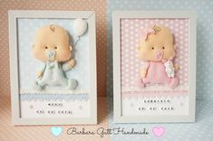 Lemoncraft: inspired by Basia: Baby frame - Inspirations from Basia: frames for children Baby Crafts, Felt Crafts, Diy And Crafts, Felt Kids, Felt Baby, Baby Frame, Diy Gift Box, Felt Decorations, Frame Crafts
