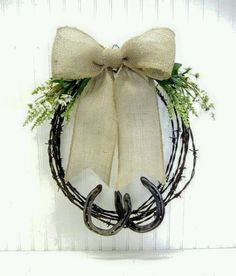 Barbed wire spring and summer wreath Horse Toys Superstore | Toy Horses for Kids, Equestrian Gifts