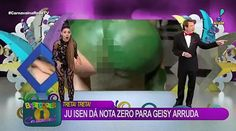 Rio Carnival or Rear-End Carnival? Brazilian Woman Shows It All On Live TV