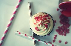Vadelma cupcakes
