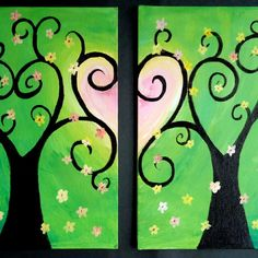 """""""Motherly Love"""" Artist: Betsy Gicquel Perfect for a Mother/Daughter or date night picture."""