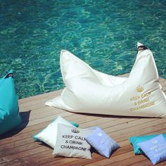 Are you ready for the summer? Time for to relax - Pool Pillow, Mykonos, Summer Time, Life Is Good, Chill, Spain, Relax, Outdoor